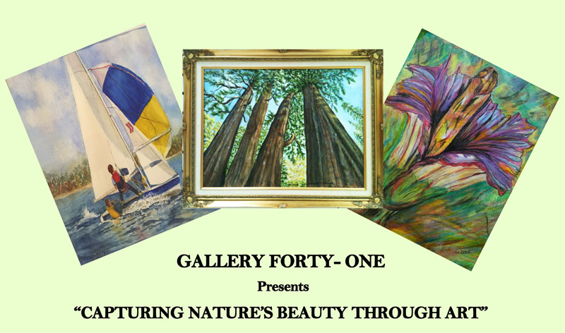 August Exhibition artists Joan Silvestri-Pencek, Barbara Shope and Janice Wood